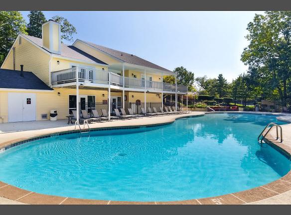 Resort-style hilltop pool