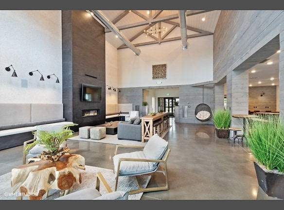 Stunning community space with modern finishes