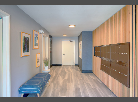 Northlink Apartments Renovated Front Office Hallway