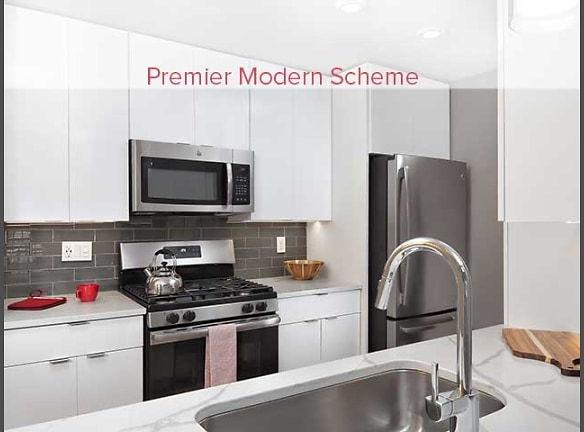 Premier Scheme Kitchen with Quartz Countertops