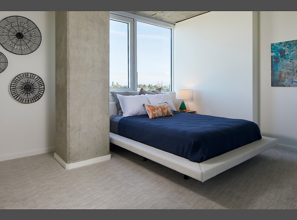 The Danforth Apartments Model Penthouse Bedroom