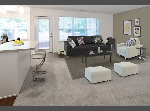 One Bedroom Living Area (Avalon Oaks - Building 4000)