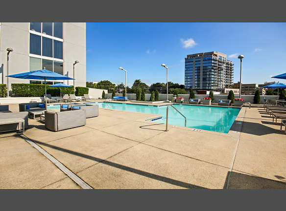 Go for a swim in the year-round heated pool