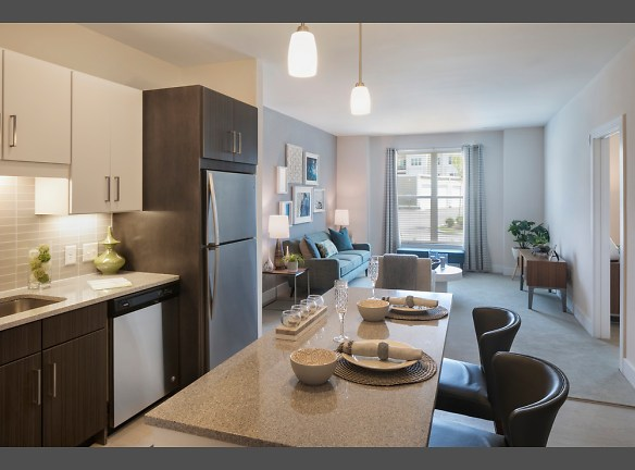 Model Kitchen and Living Room