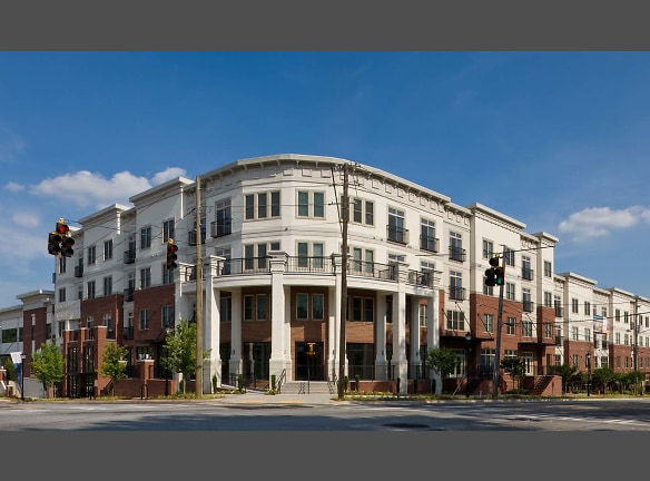 Pet-friendly community offering apartments and townhomes