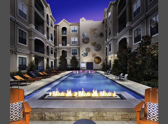 NEW: Enhanced salt-water pool and fire feature with lounge seating