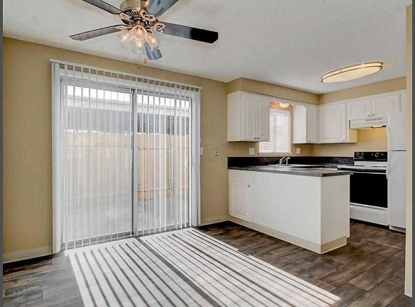 Your new home with open dining area