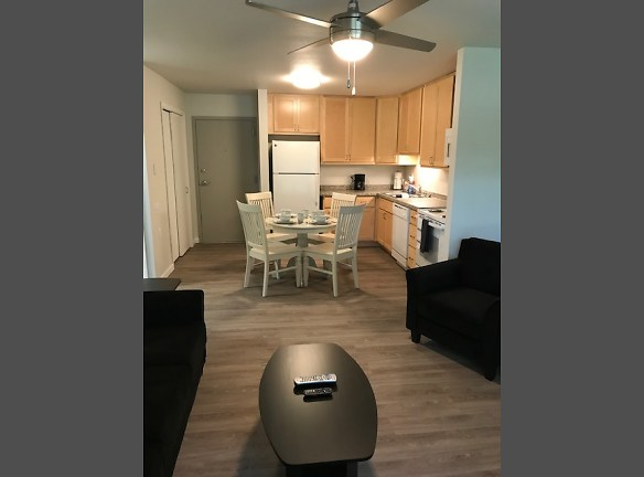 Remodeled Living Room to Kitchen