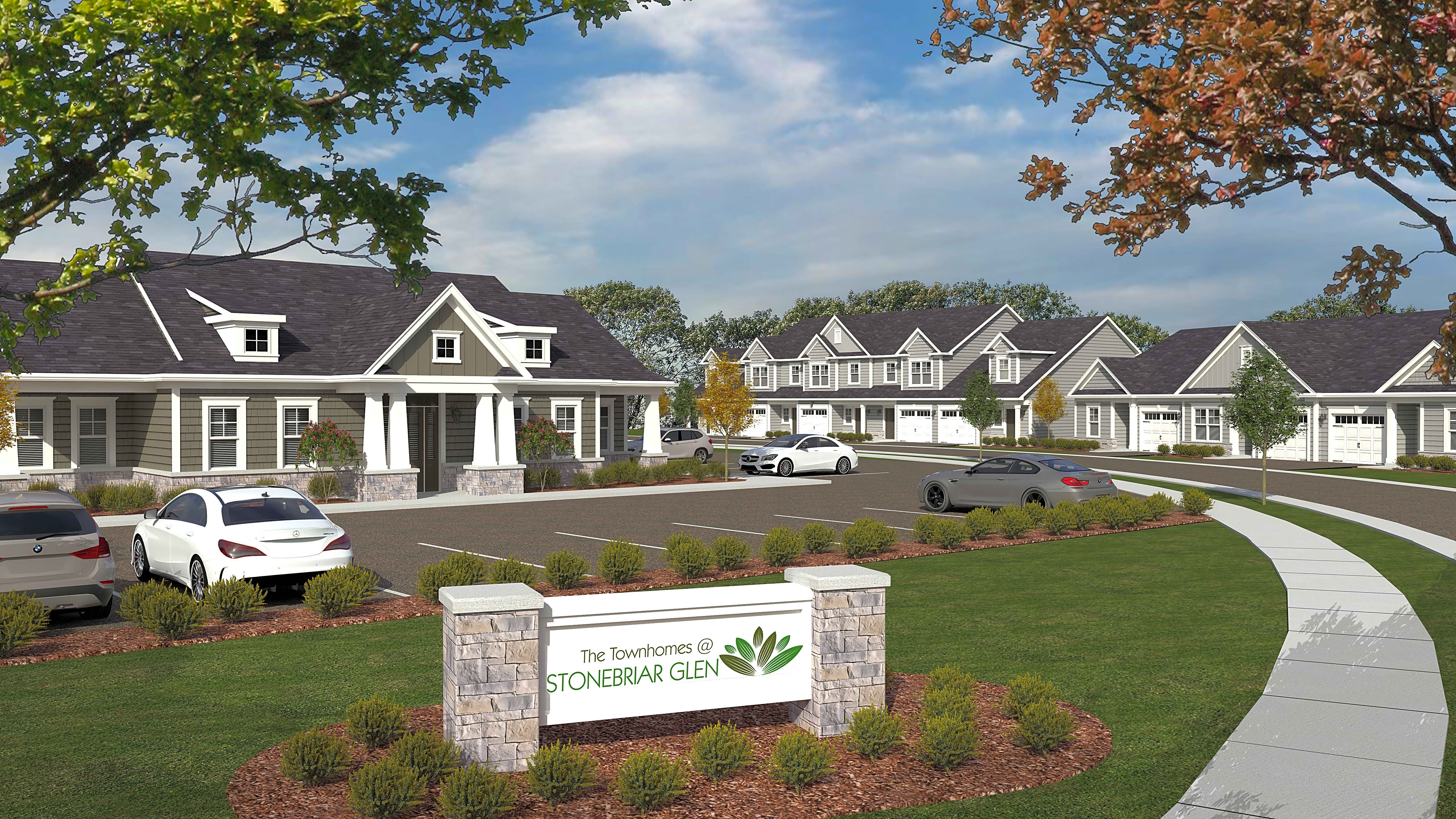 Apartments Near Brockport The Townhomes at Stonebriar Glen for Brockport Students in Brockport, NY