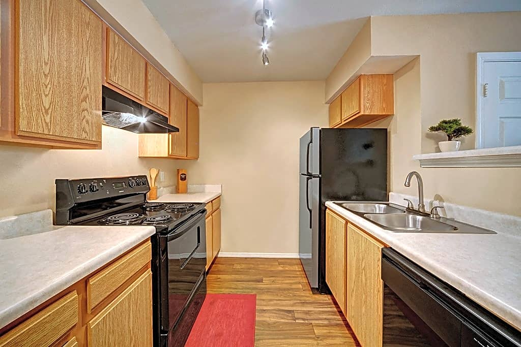 Galley Style Kitchen with Tons of Storage