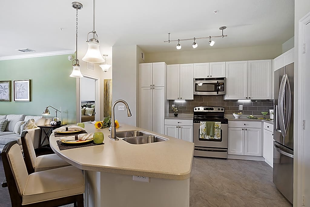 Interior - Kitchen - Newly Renovated Motion Sensored Cabinet Lighting and Moen Touchless Faucet!