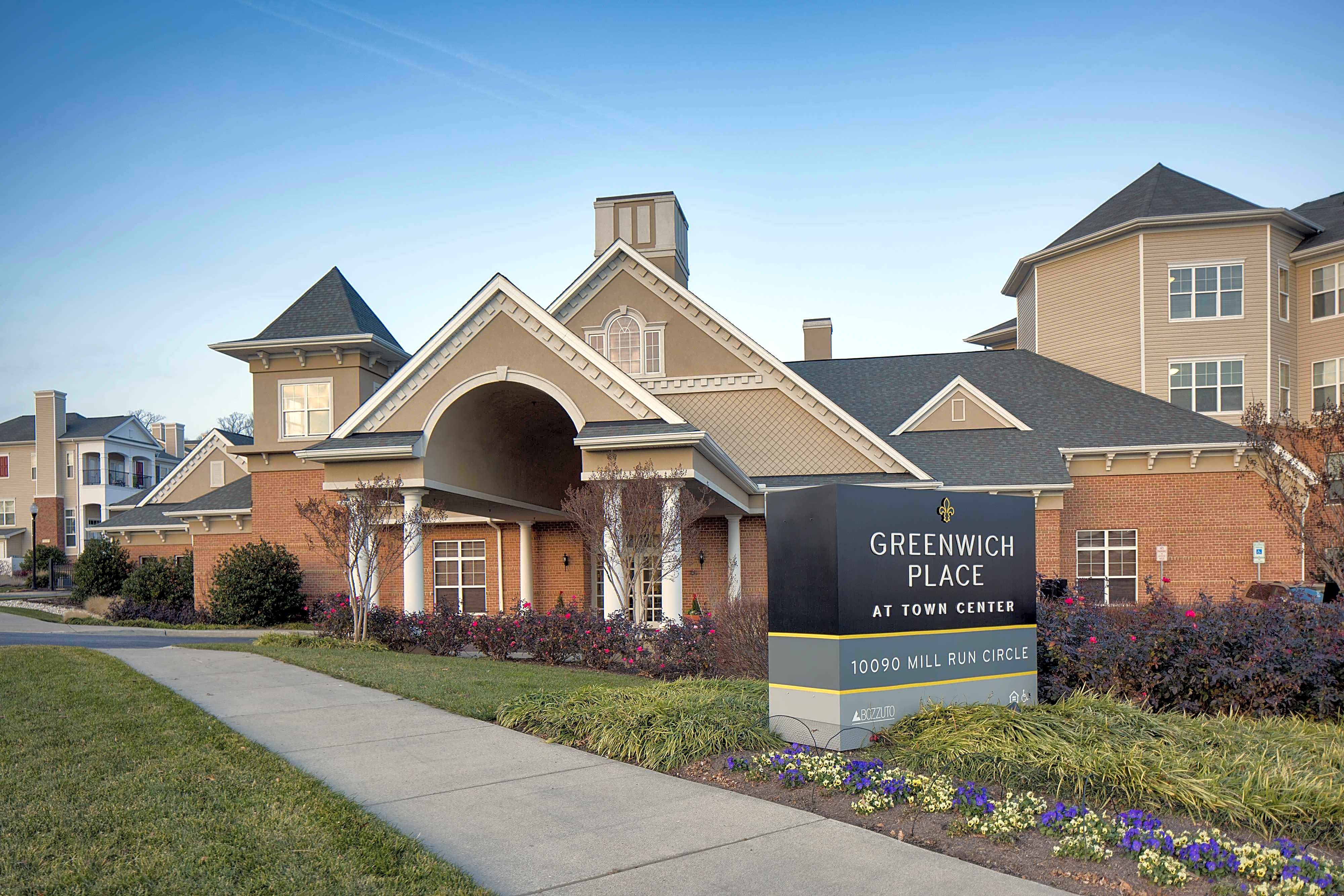 Greenwich Place At Town Center Apartments Owings Mills