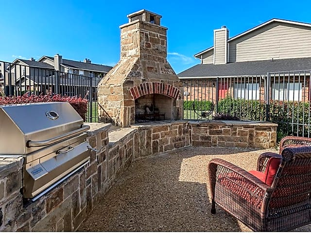 Outdoor Grilling Area