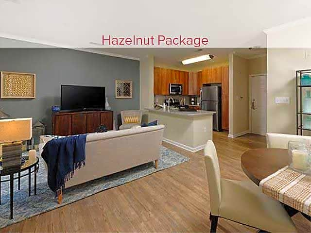 Renovated Hazelnut Package Living/Dining Area