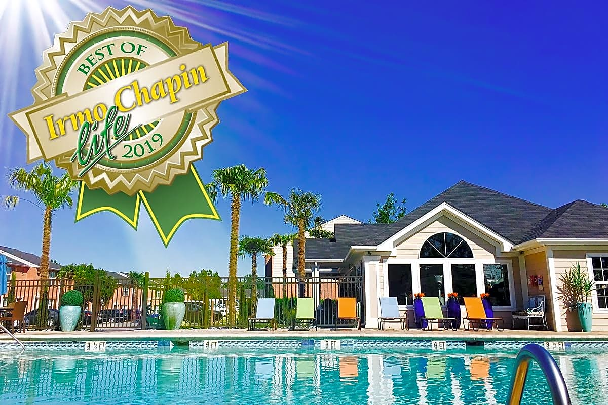#1 Voted Apartments in Irmo/Chapin 2019.