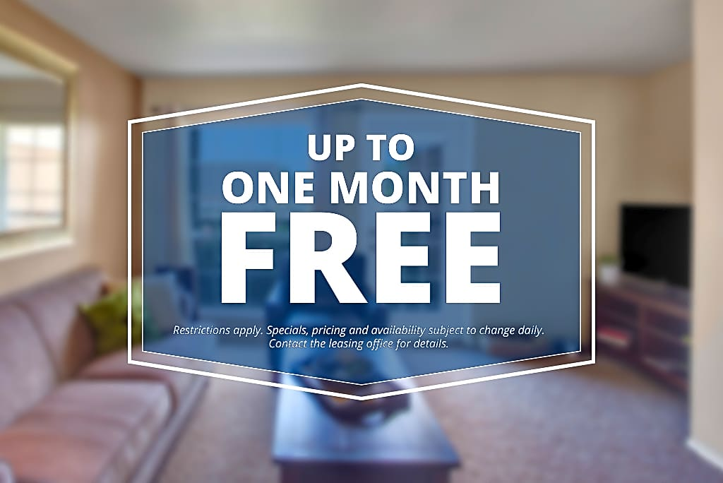 Specials savings coupon One Month Free