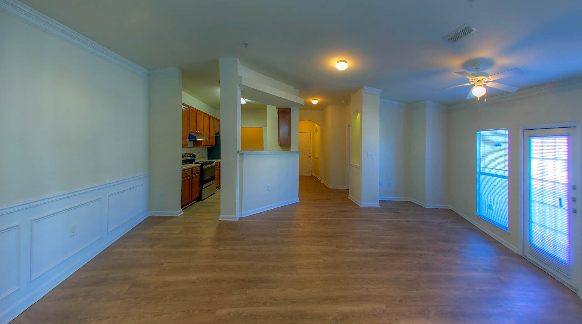 LVT Floors and Ceiling Fans