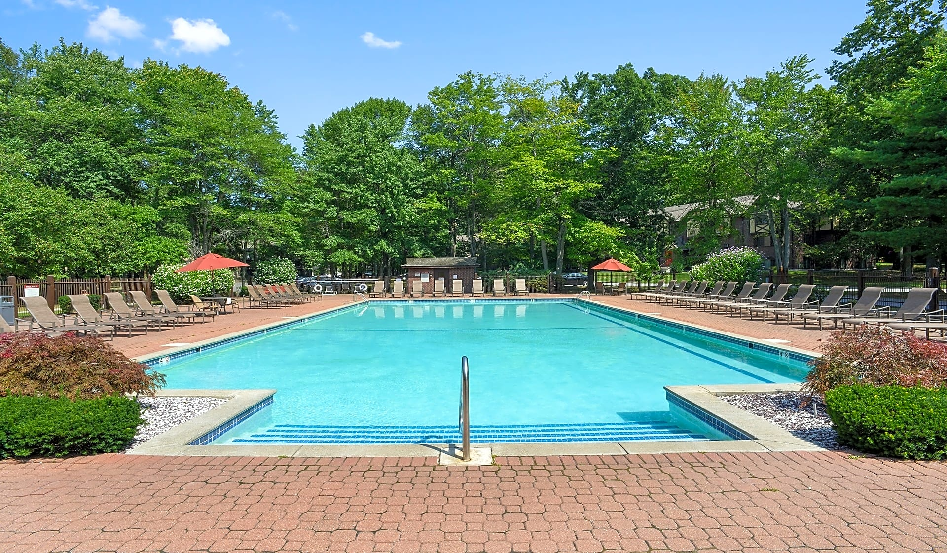 Take a dip in our outdoor pool for leisure or recreation