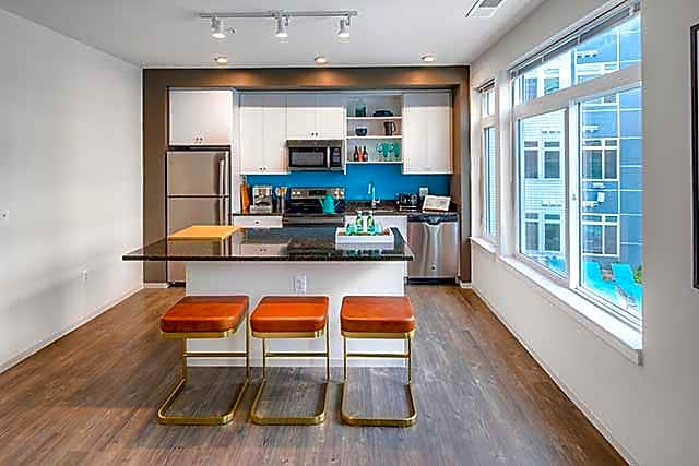 Modern Kitchens with Stainless Steel Appliances and Granite Countertops