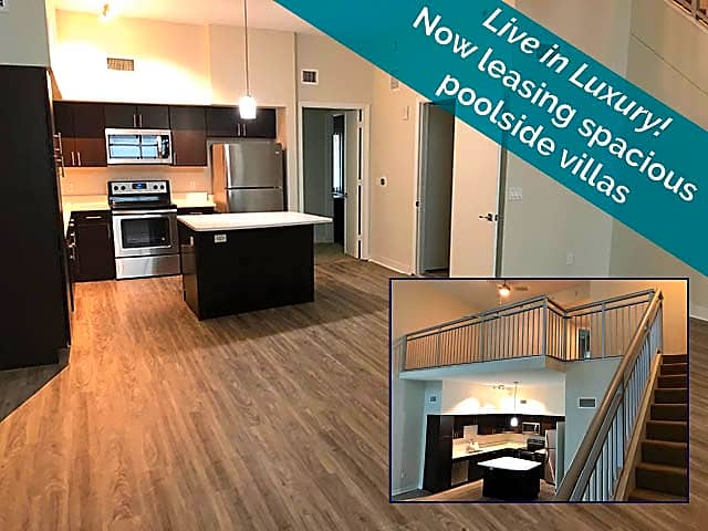 Ask about our beautiful poolside villas! Featuring private access, loft and garage