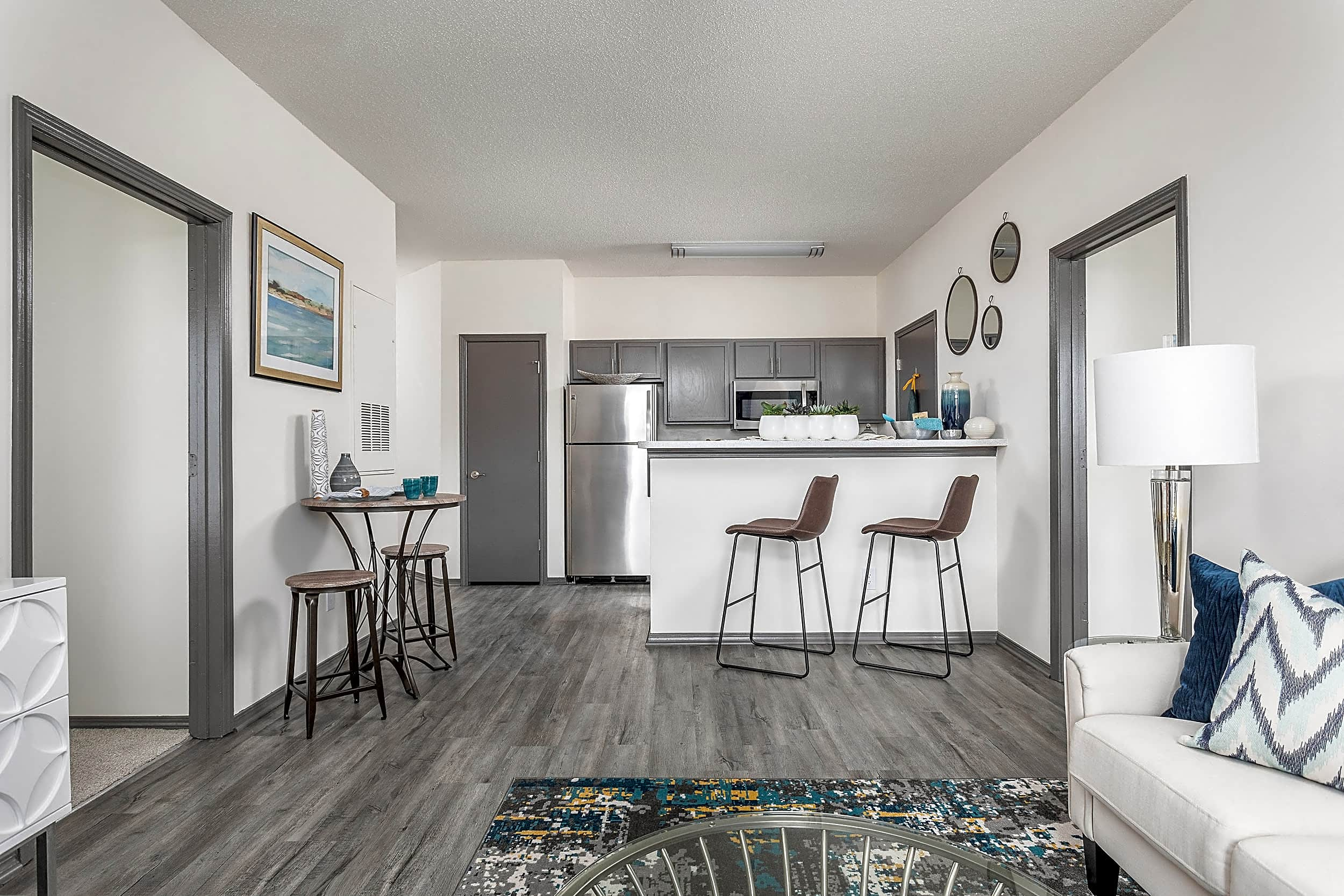 Open Living Room, Breakfast Bar and Kitchen - Brunswick Point