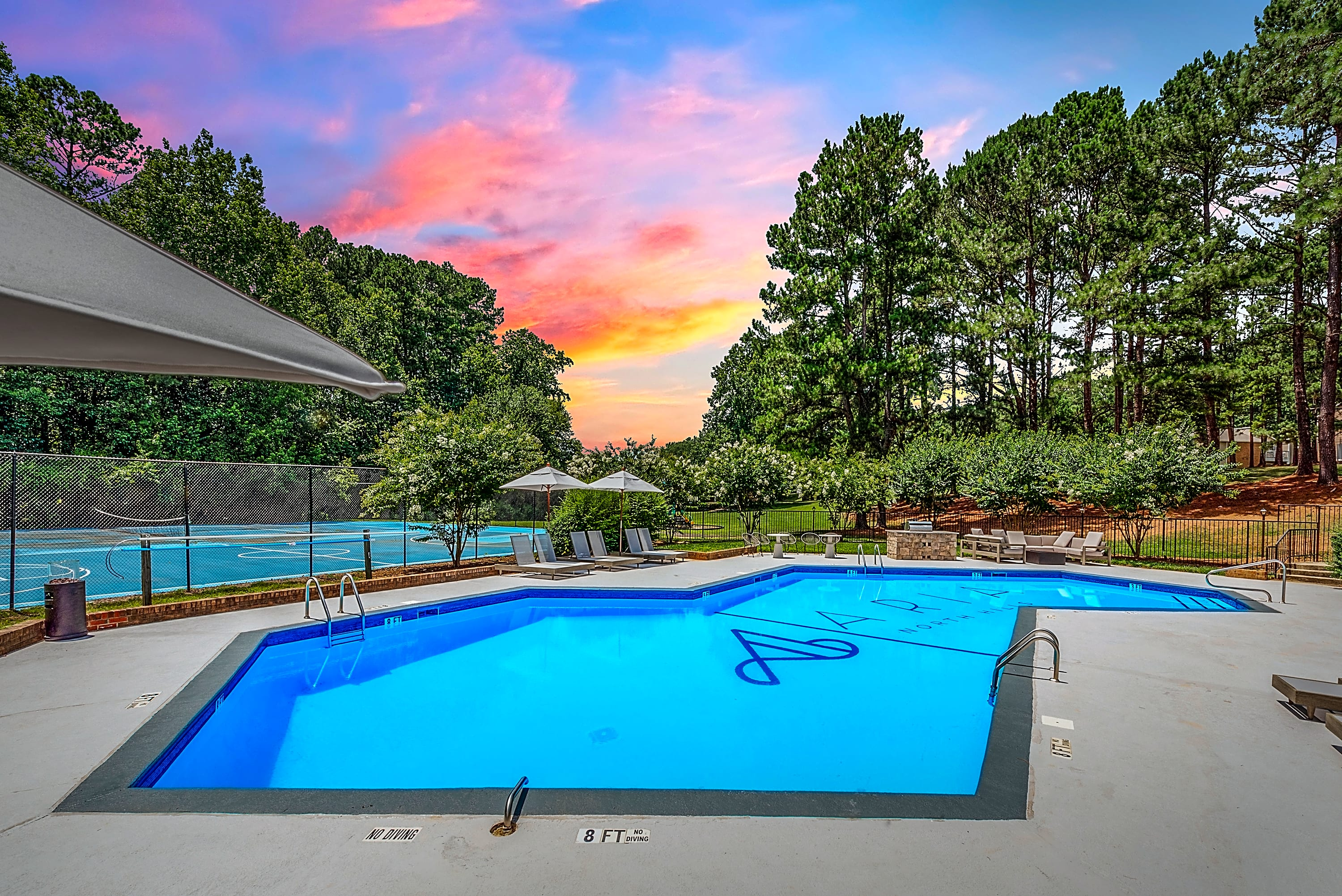 Apartments Near NC State Aria North Hills for North Carolina State University Students in Raleigh, NC