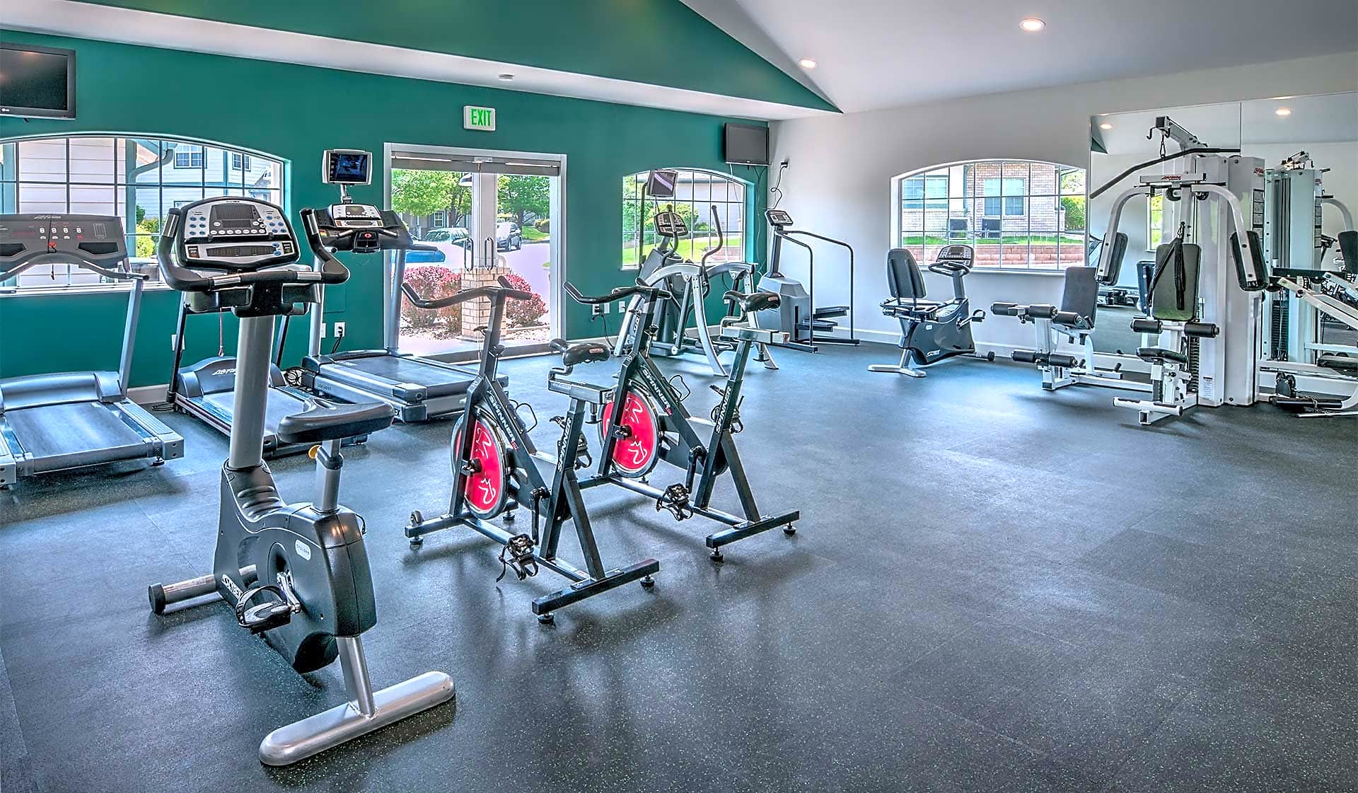 Exercise at our 24-hour fitness center