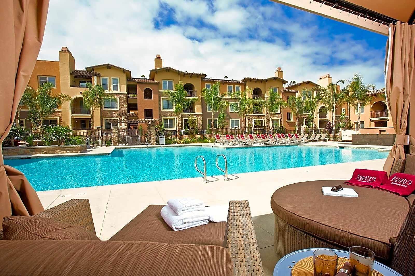 Private Poolside Cabanas