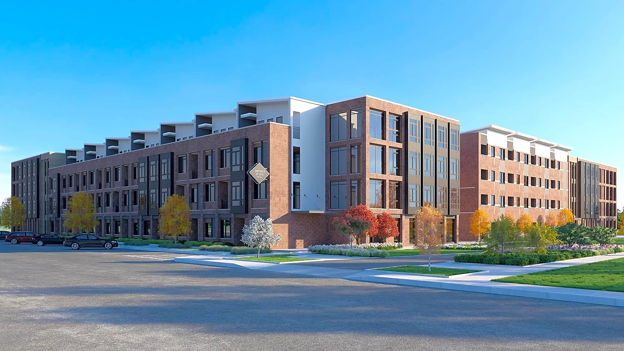 Apartments Near Mercy College of Health Sciences District at 6th Apartments for Mercy College of Health Sciences Students in Des Moines, IA
