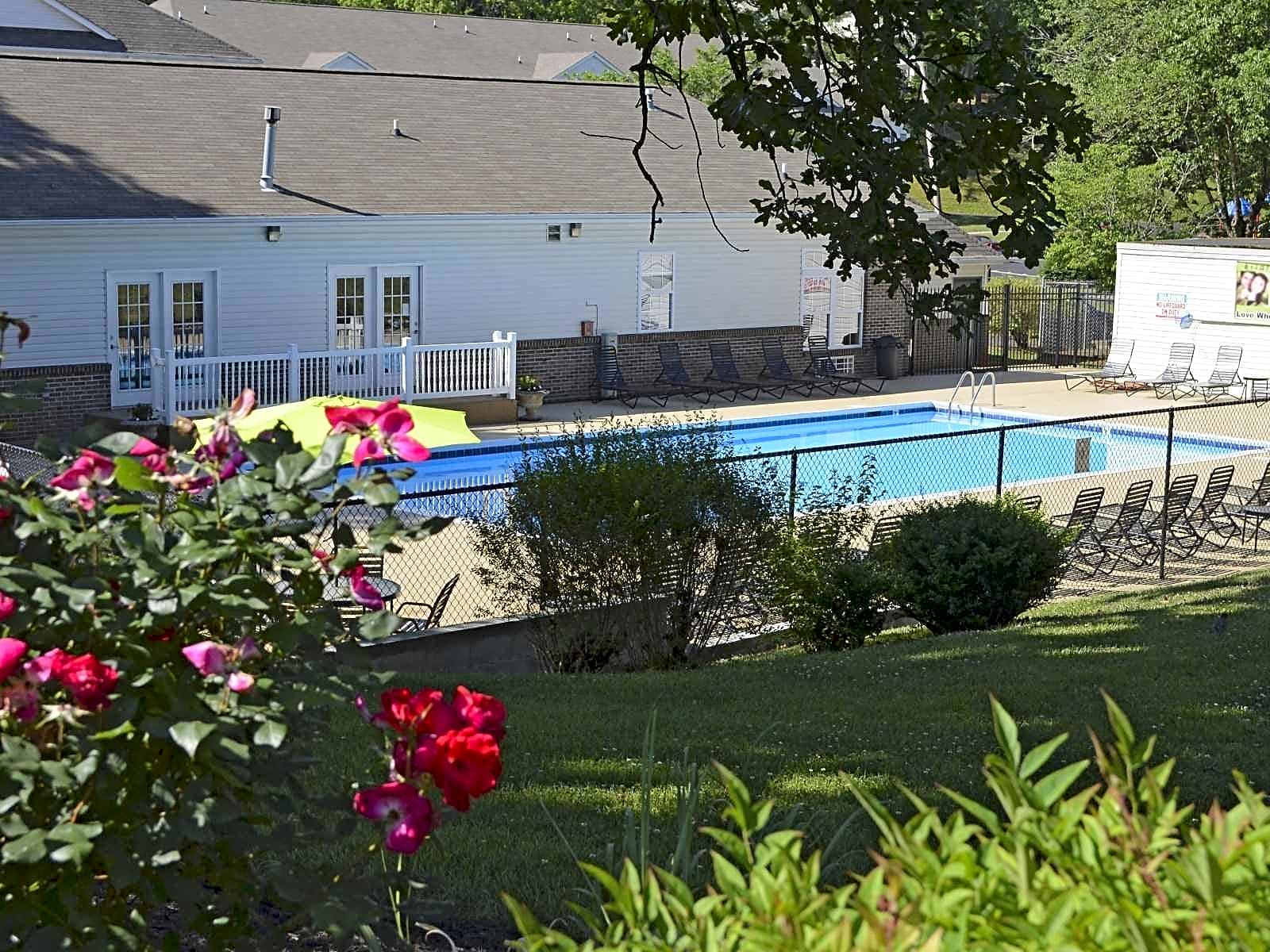Check out our sparkling pool!