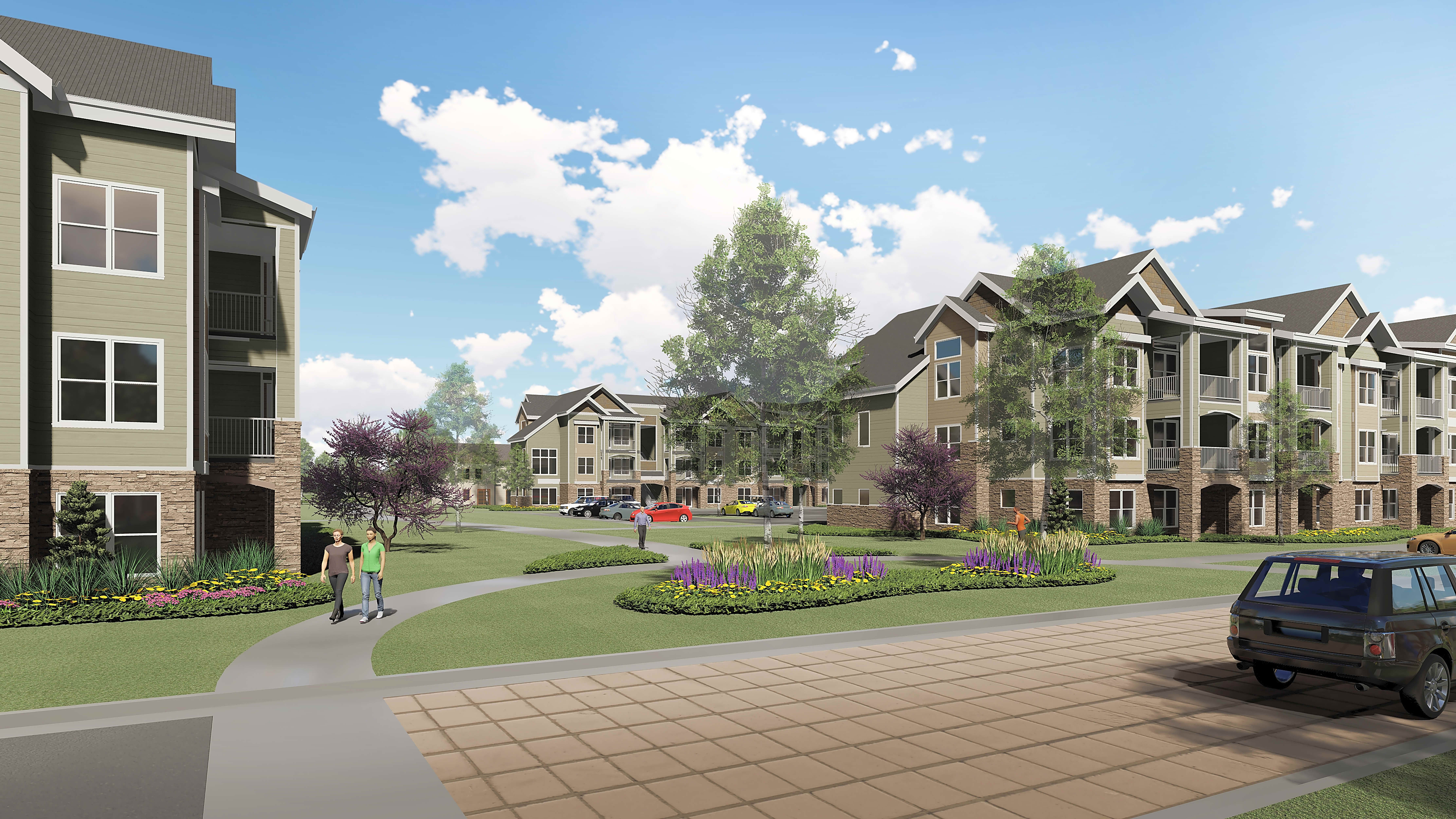 Apartments Near Park Thrive at Creekside for Park University Students in Parkville, MO