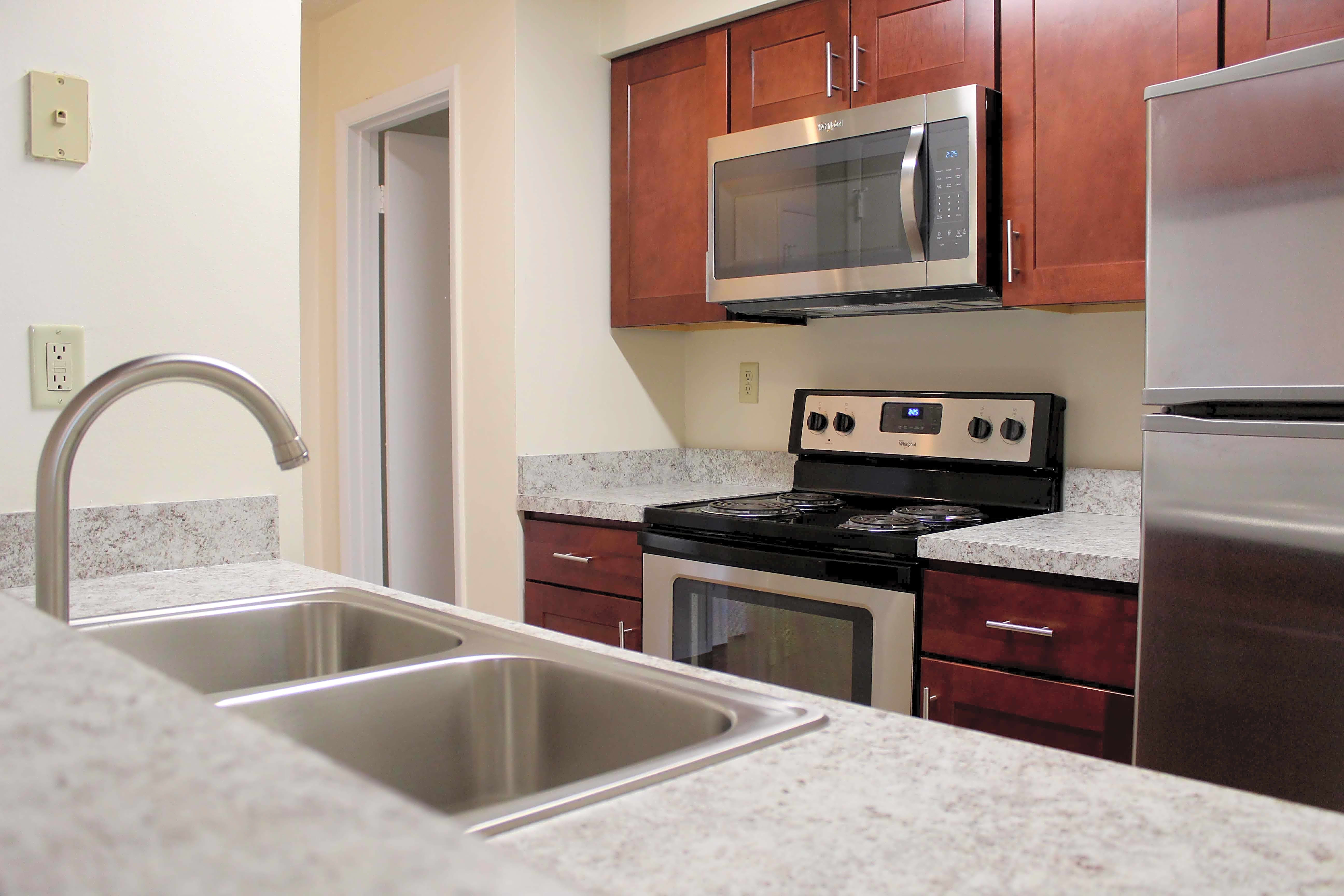 Newly renovated two bedroom kitchen