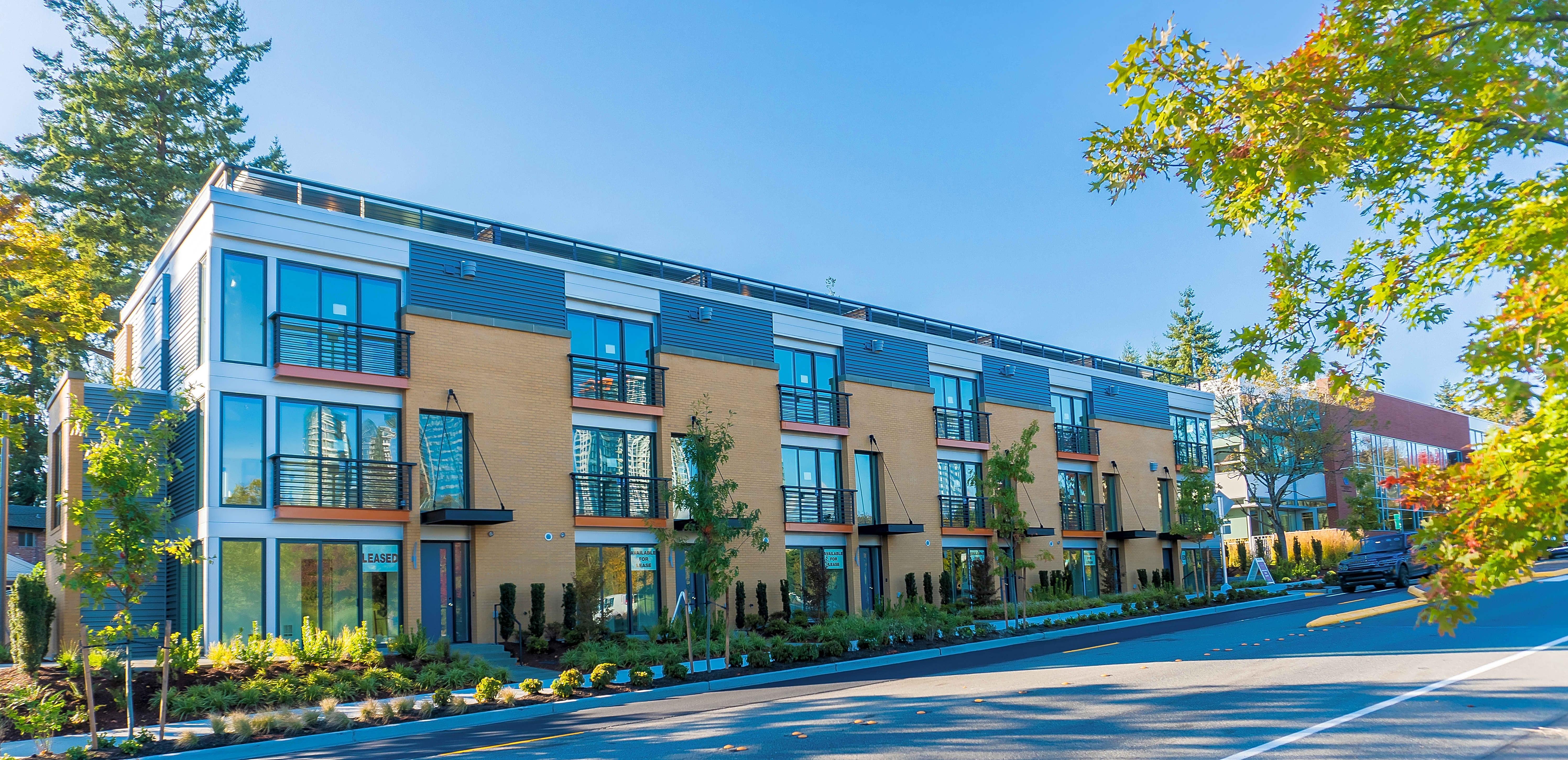 Apartments Near RTC Park Central Townhomes for Renton Technical College Students in Renton, WA