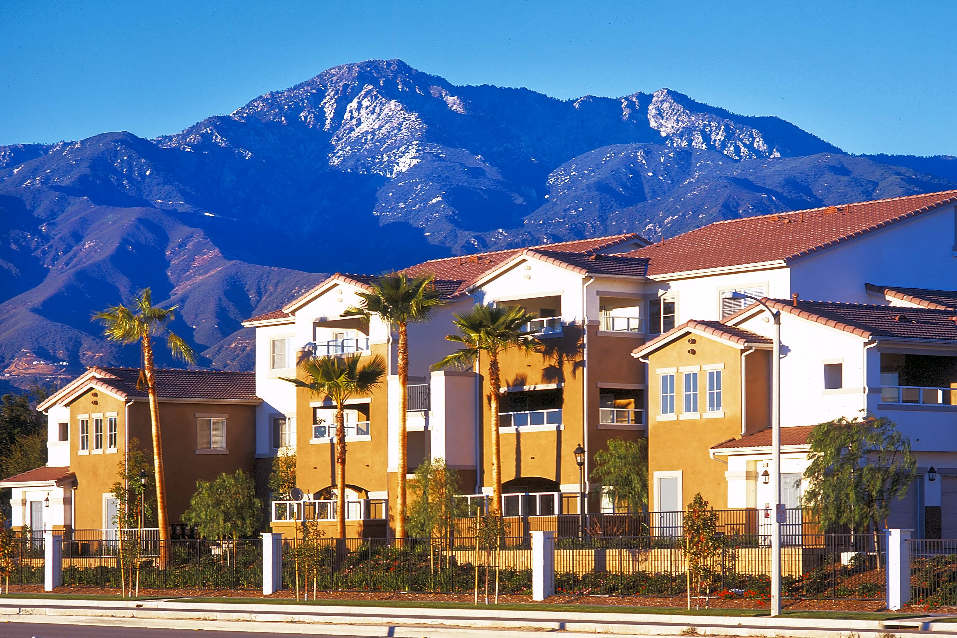 Rancho Cucamonga is a suburban city in San Bernardino County, California, United States. As of the census, the city had a population of ,, up from , at the census.