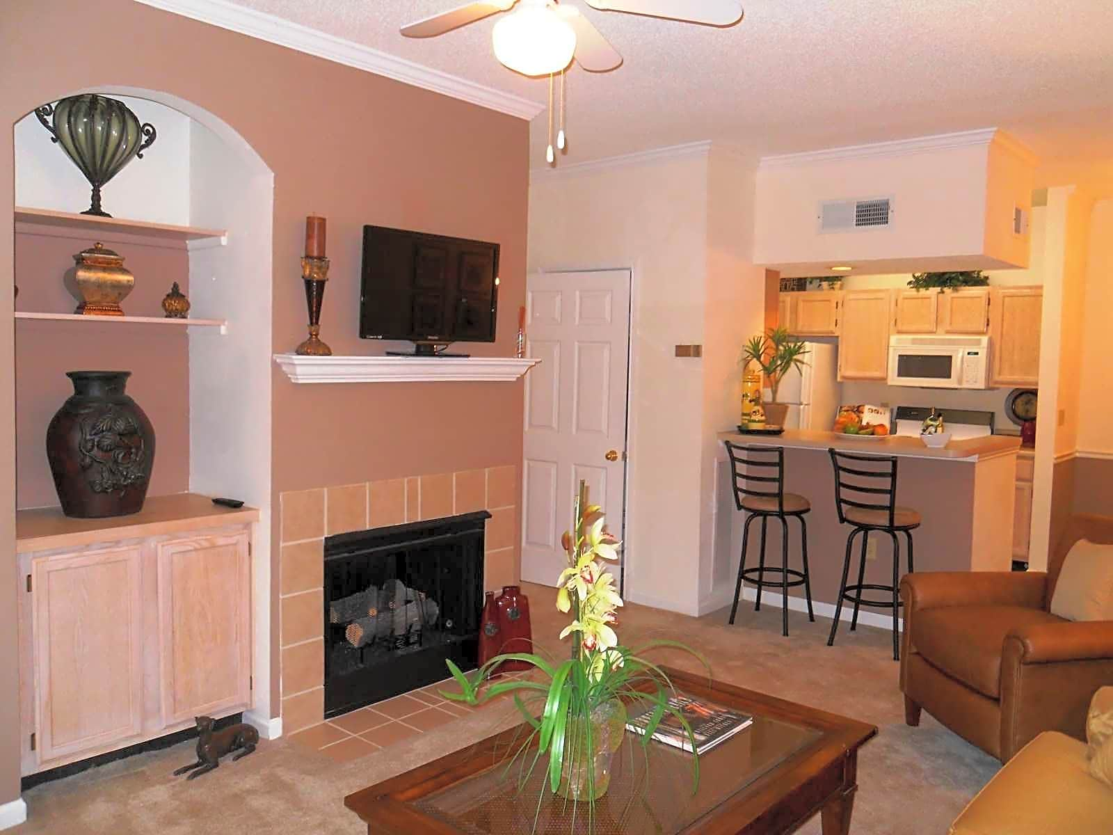 Fireplaces in Select Apartments