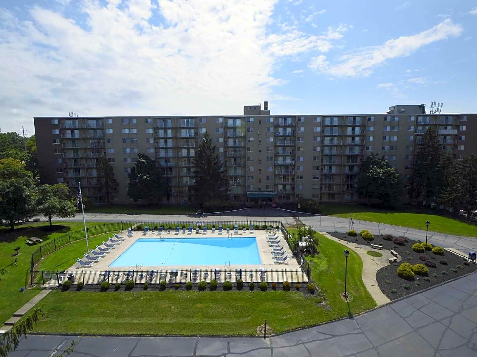 Highland Square Akron >> Portage Towers Apartments - Cuyahoga Falls, OH 44221