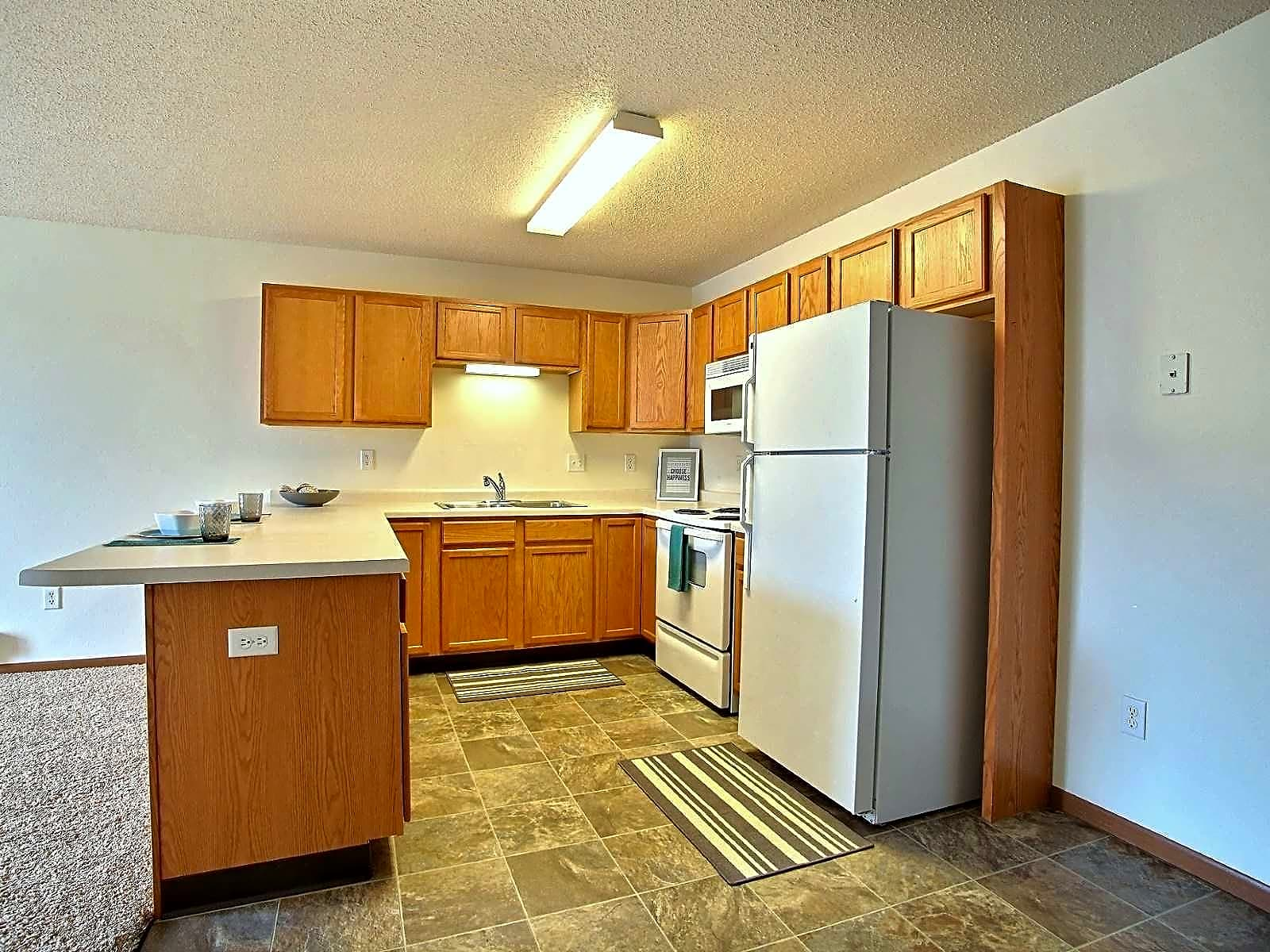 2 bedroom - Island style kitchen
