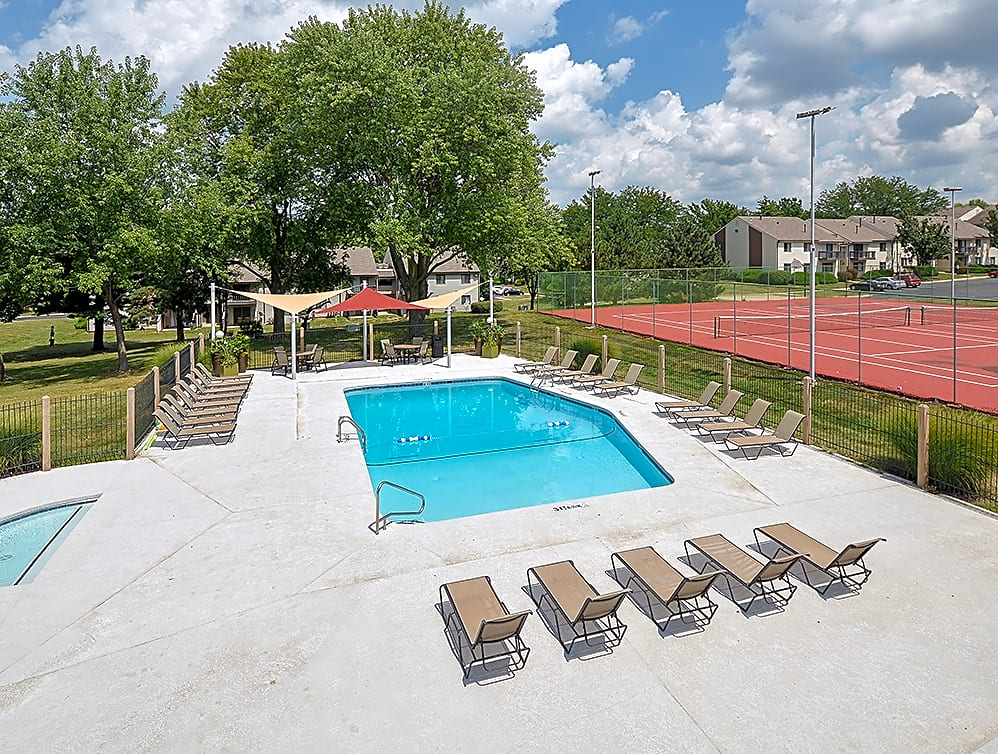Outdoor Pool with Spacious Sundeck