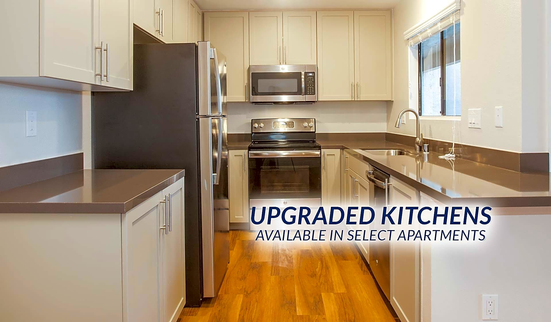 Upgraded kitchens in select homes