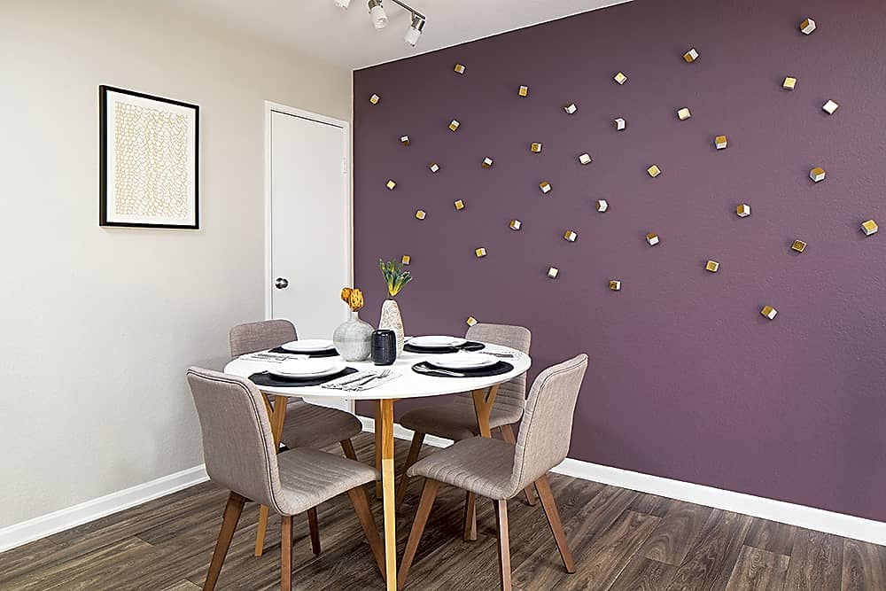 Private dining area perfect for dinner dates