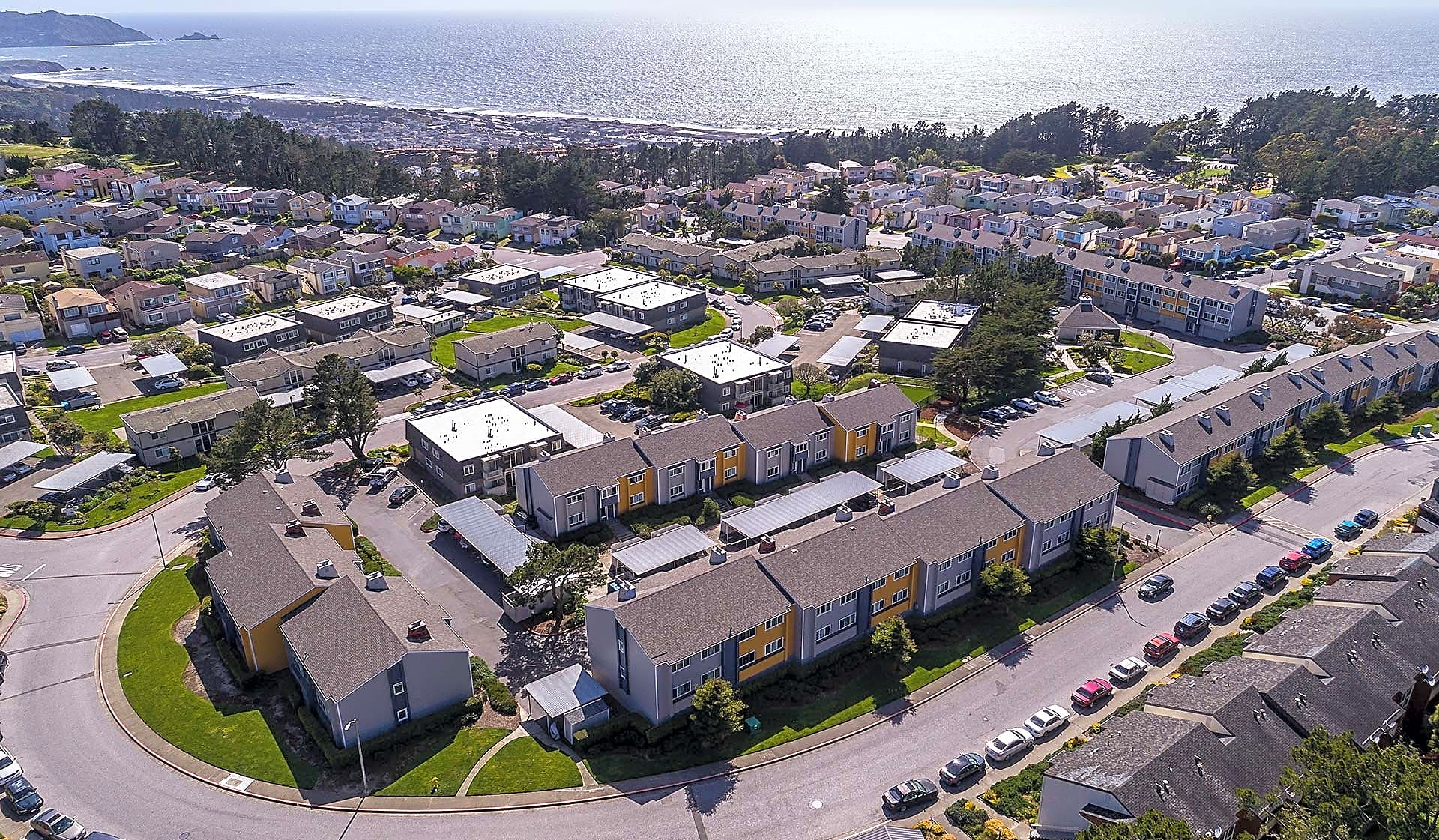 Our community is ideally located near the ocean