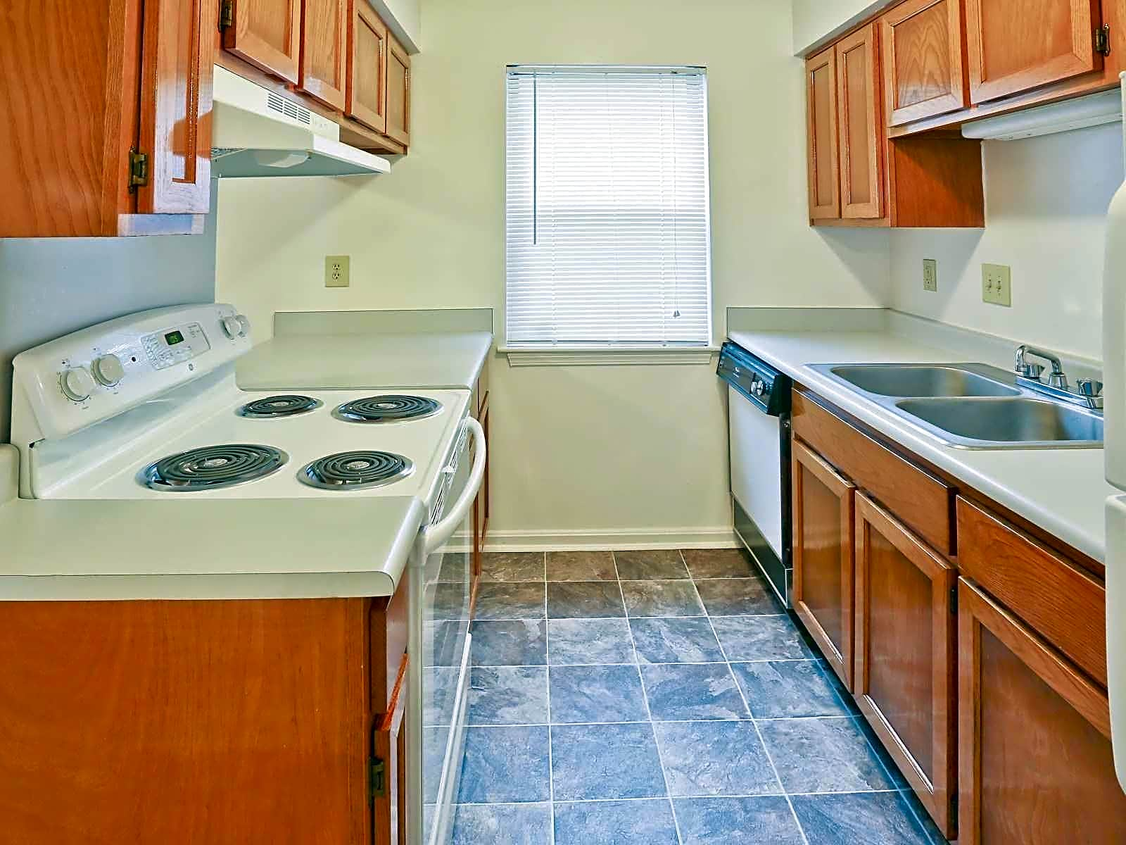 equipped kitchens