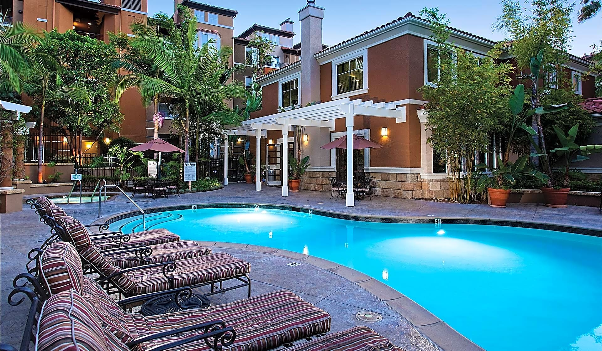 Take a dip in our swimming pool