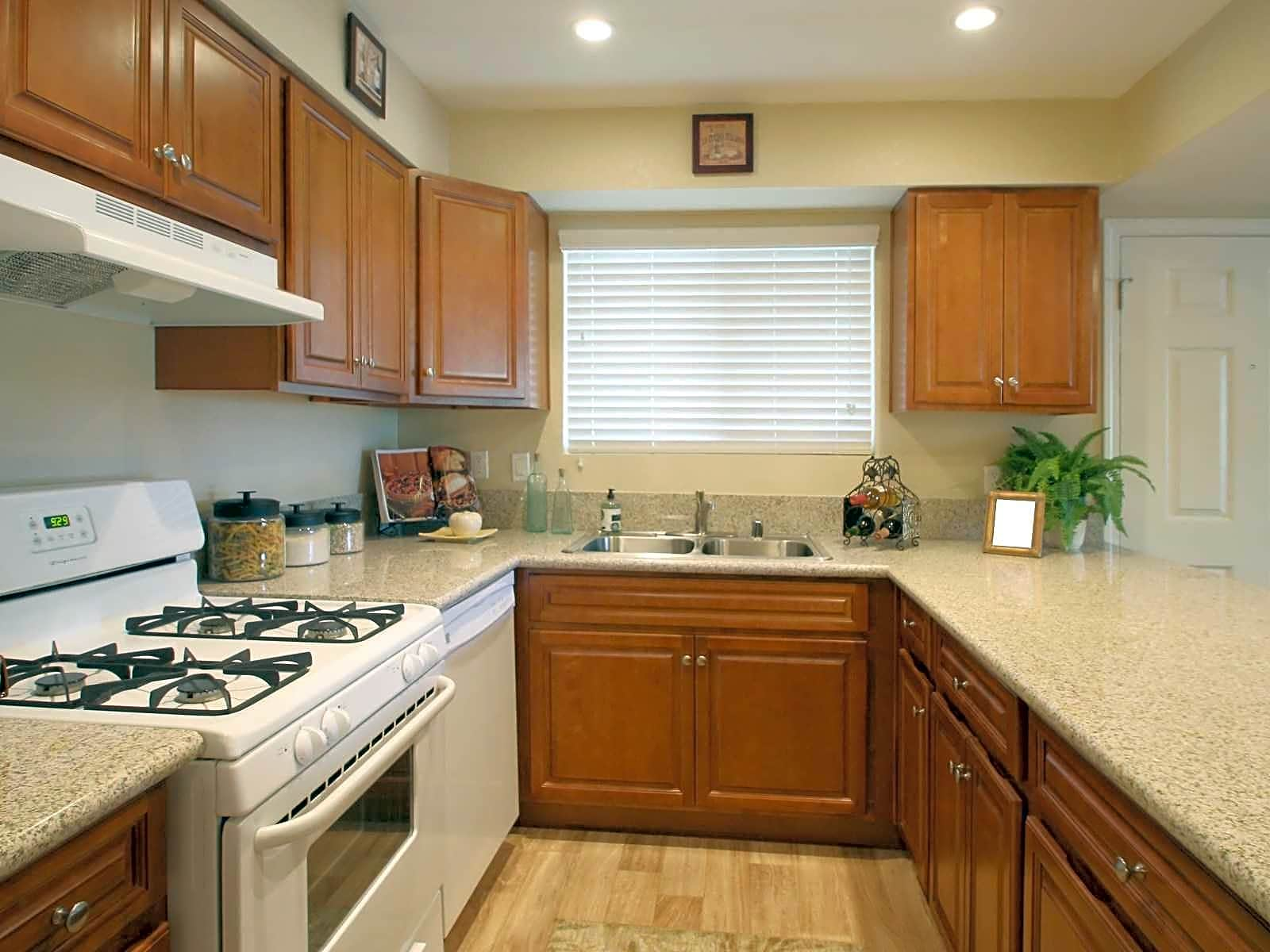 All of the apartments available have been completely remodeled and include granite countertops!