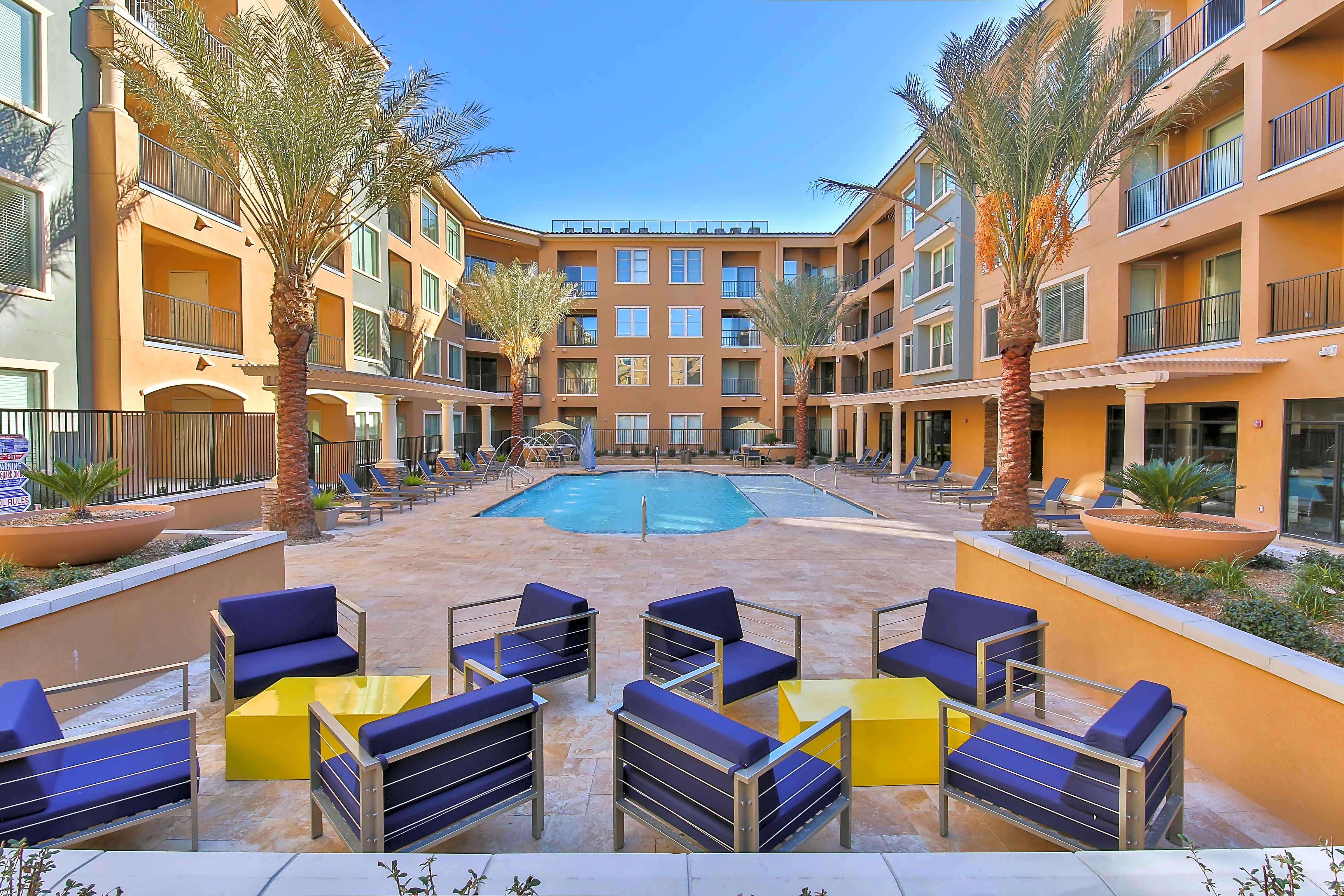 Apartments Near UNLV Abode at Red Rock for University of Nevada-Las Vegas Students in Las Vegas, NV