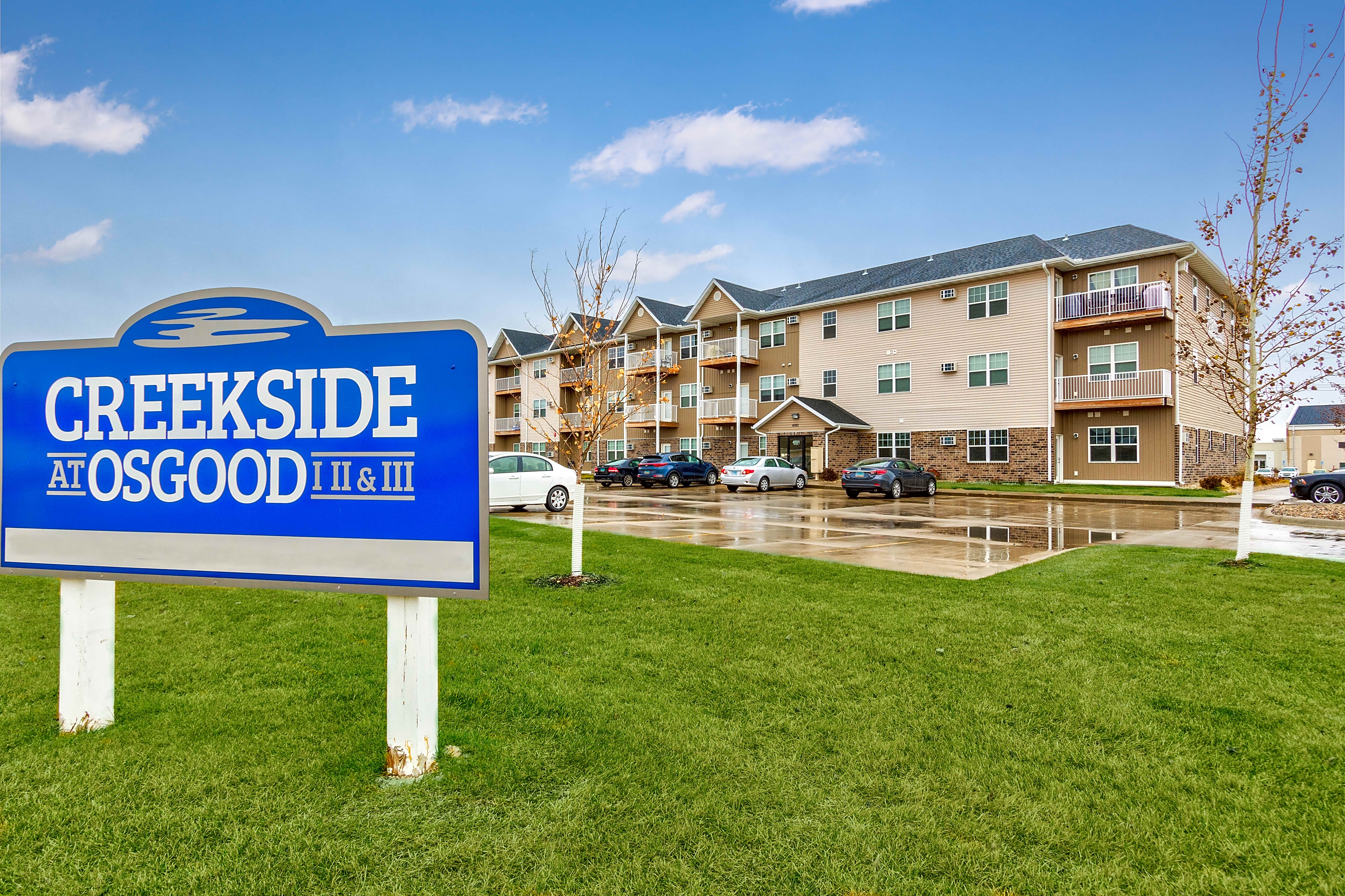 Apartments Near NDSU Creekside at Osgood for North Dakota State University Students in Fargo, ND