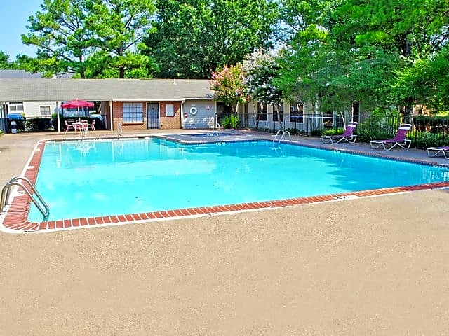 Enjoy a sunny morning or warm afternoon by the community pool