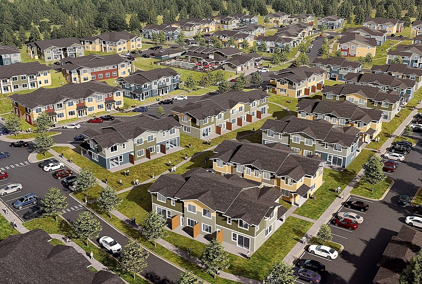 Evergreen Village at Delta Ridge