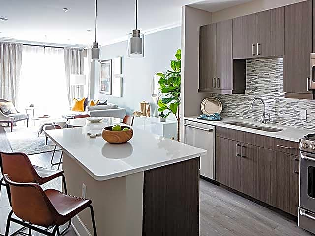 One Bedroom Kitchen (Urban Finish Scheme)