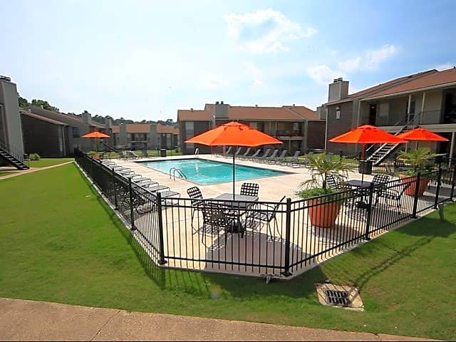 Take a swim at the relaxing Oakbrook pool